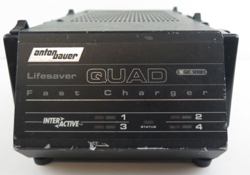 Anton Bauer Lifesaver Magnum Quad Battery Charger