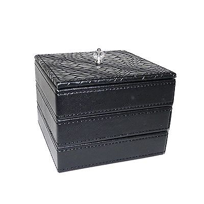 PU LEATHER JEWELRY BOX JACLYN SMITH