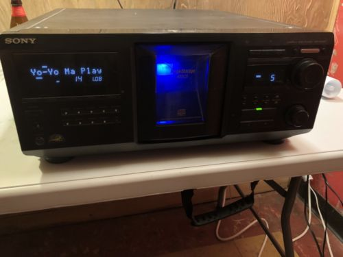 Sony CDP-CX455 400 CD Changer *3 NEW BELTS* *EXCELLENT CONDITION*