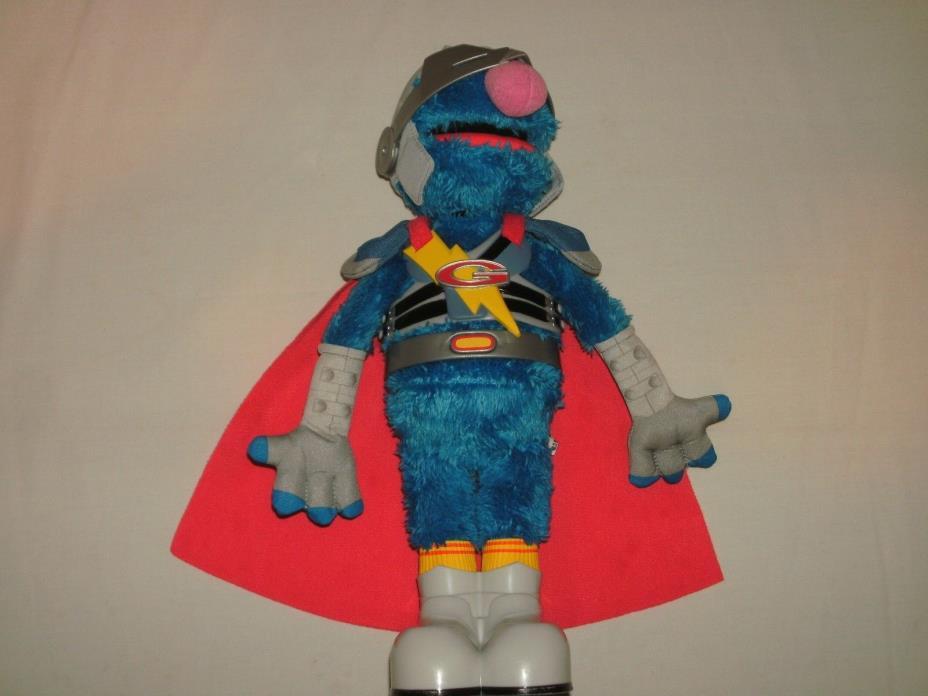 2011 Hasbro Sesame Street Super Flying Grover 2.0 Talking Figure Singing 15