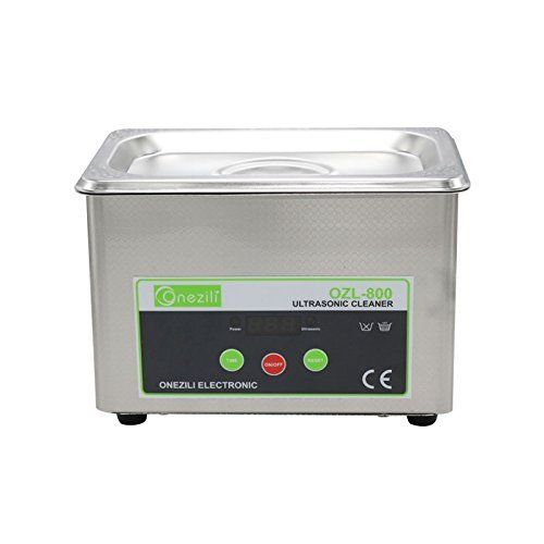 ONEZILI 800ML Professional Digital Ultrasonic Cleaner Sonic Wave Smart Ultrasoni