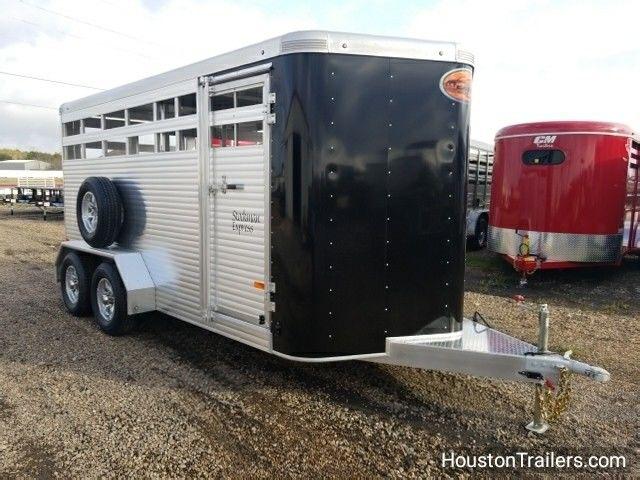2018 Sundowner Trailers 16' Stockman Express all aluminum Livestock Cattle SD-68