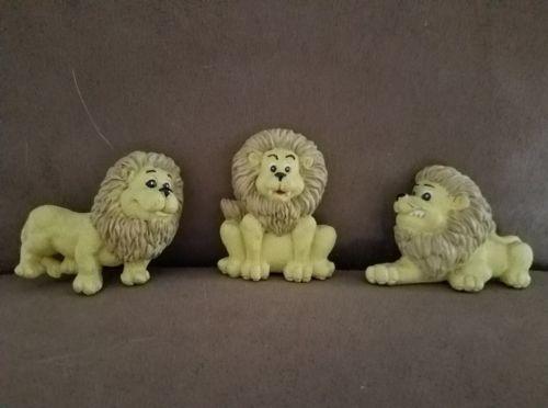 Lion Magnets Set of 3