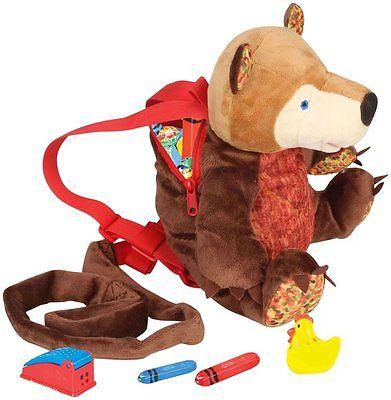 Bear Eric Carle Backpack Harness Kids Toddler Safety Safe Strap Leash Boys