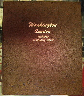 DANSCO WASHINGTON QUARTERS w/PROOFS COIN BOOK - NO COINS