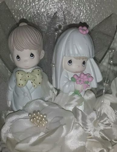 Vintage~Precious Moments~Wedding Cake Topper