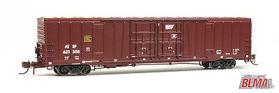 NIB BLMA Item #18010 N Bx-166 60' Beer Car - ATSF w/o Logo #621543 Free Ship