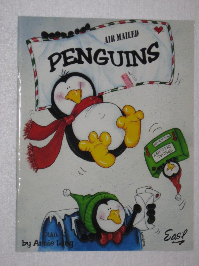 Tole Painting Air Mailed Penguins Annie Lang