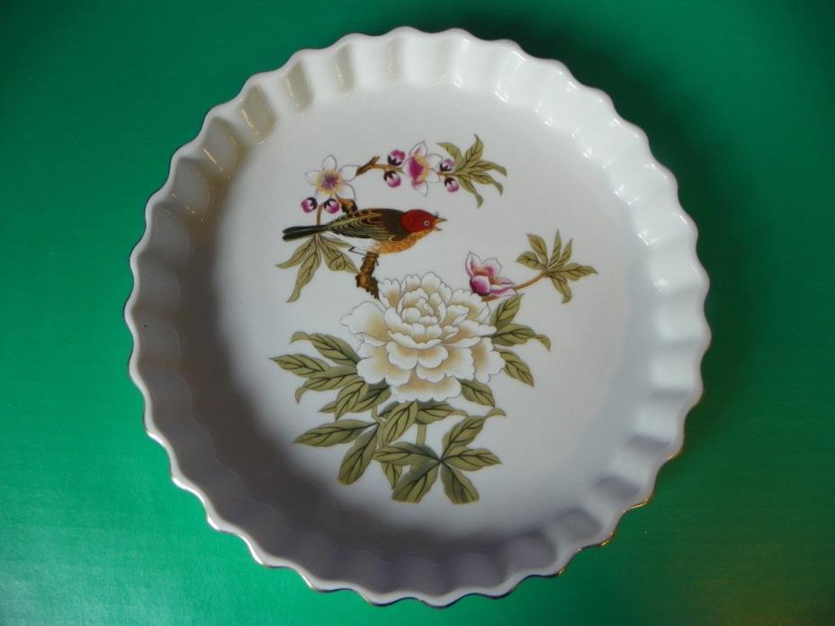 Porcelain Quiche Dish Chinese Garden Original Design by Shafford