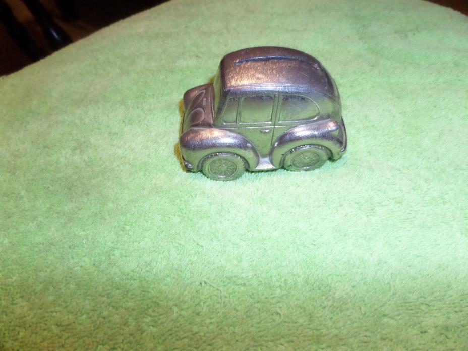 Volkswagen Beetle  Bank Car Metal Piggy Bank