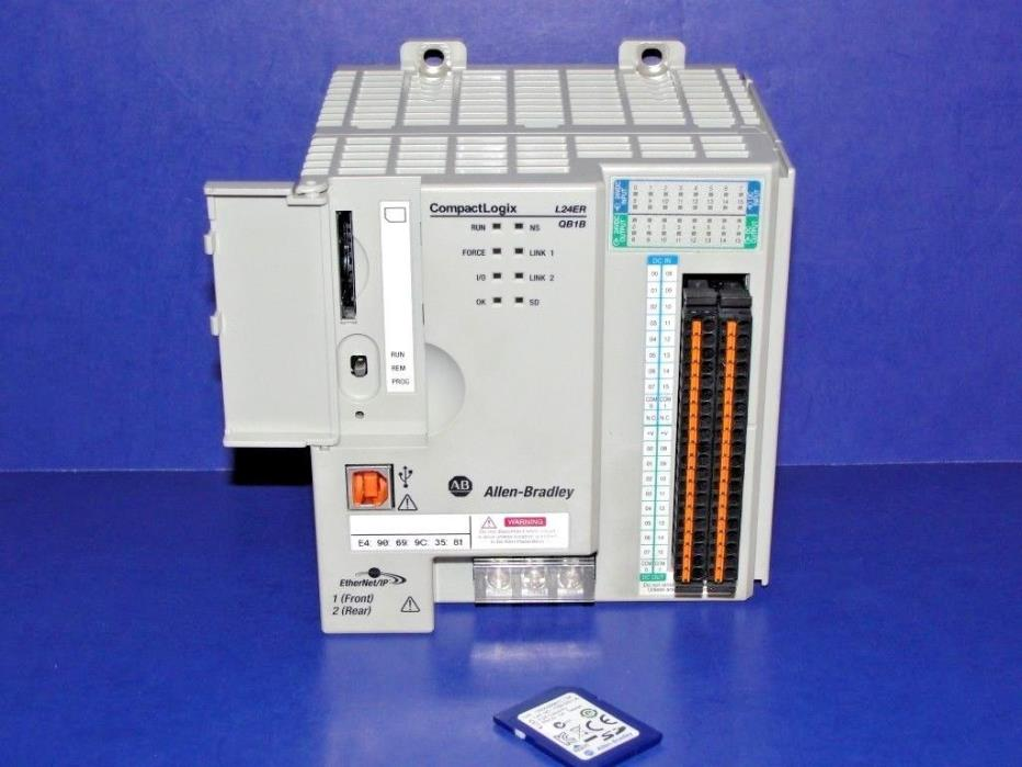 NEW 1769-L24ER-QB1B Series A CompactLogix Processor ORIGINAL F/W 1.003  NEW