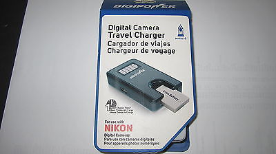 DIGIPOWER  NIKON   DIGITAL CAMERA TRAVEL CHARGER 1 HOUR CHARGING TIME NEW IN BOX