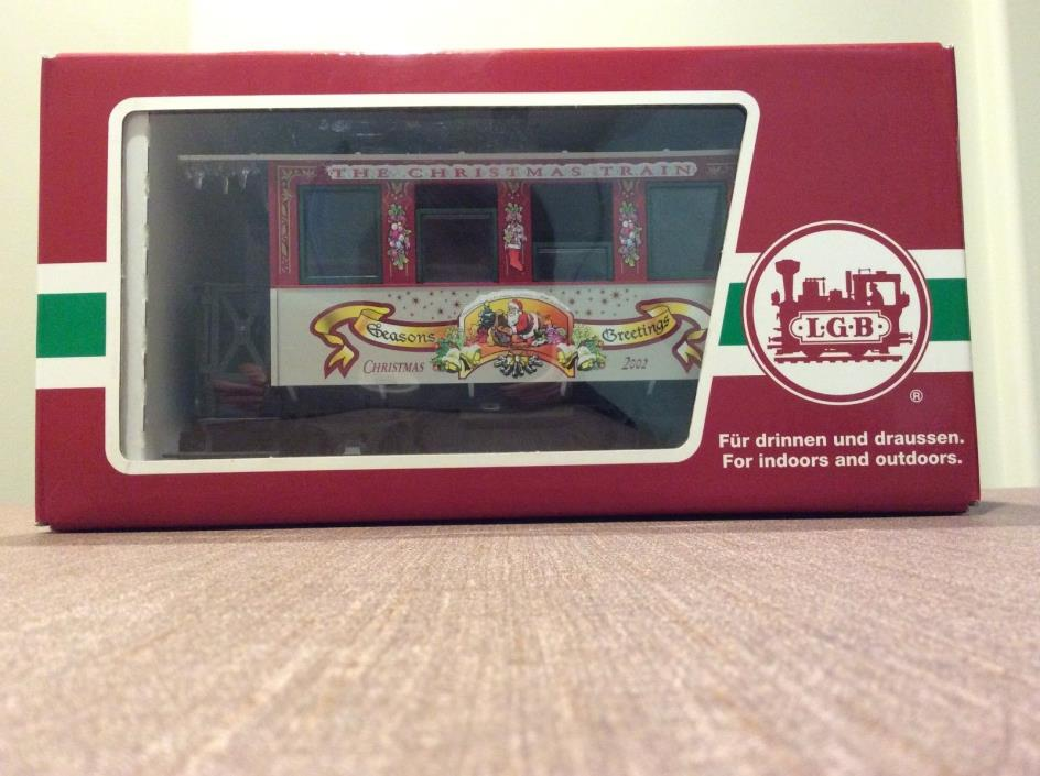 LGB Christmas Passenger Car 2002-33076 (Excellent Condition/In Original Box)