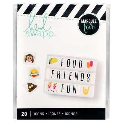 Heidi Swapp Lightbox Emojis 2 Icons - 20 Inserts