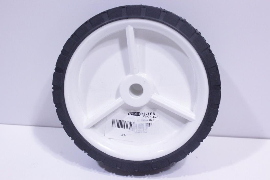 Oregon 72-106 Universal Wheel 6X150 Diamond Plastic