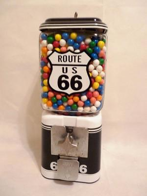 Acorn glass globe vintage gumball machine Route 66 mother road bar man cave gift