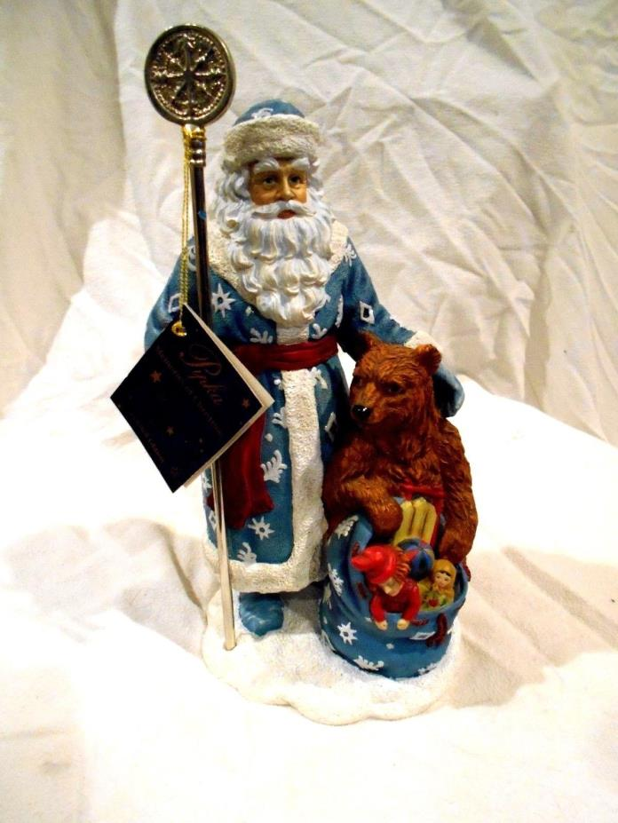 Pipka Memories of Christmas #13916 Russian Santa LE 2088/3600 w/hang tag