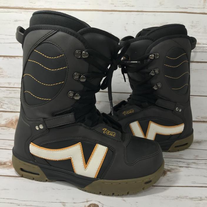 VANS Women's Hi-Standard Snowboard Snowboarding Boots Ski Winter Black Size 8