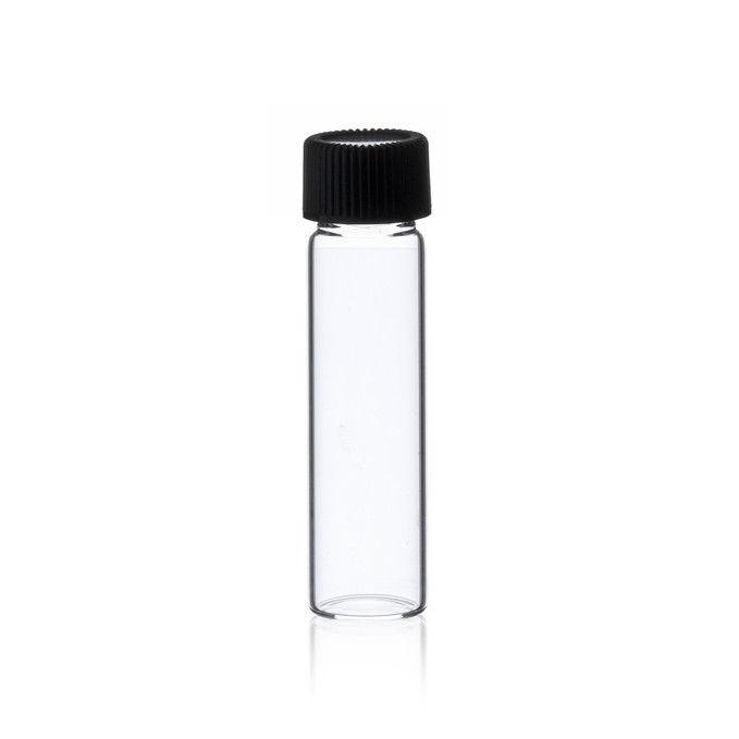 2 Dram Clear Glass Vials [17mm X 60 mm] W/Caps, 144 pcs