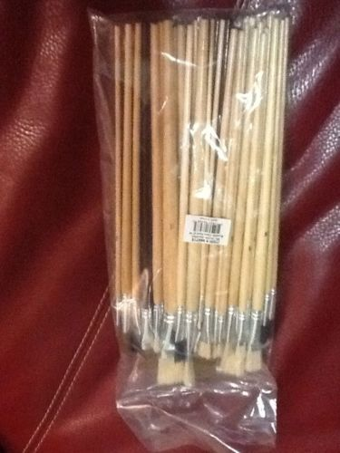 Deluxe 36 pc Artist's Paint Brush Set Art Supplies