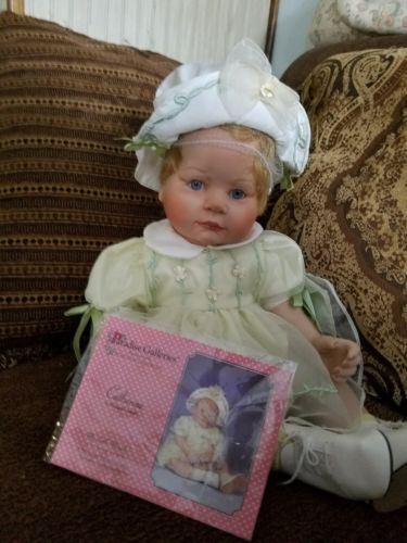 PARADISE GALLERIES COLLECTION CATHERINE (BISQUE)PORCELAIN DOLL #0388
