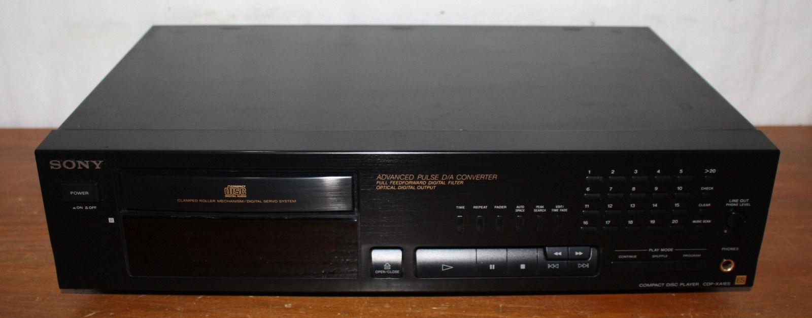 BROKEN - Sony Compact Disc Player CDP-XA1ES, ES Elevated Standard Series, CD