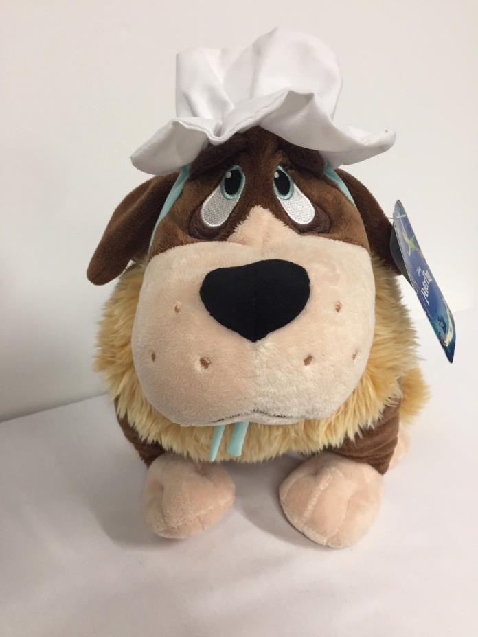 Saint Bernard Newfoundland Dog NANA Peter Pan Plush Original Tags Disney Store