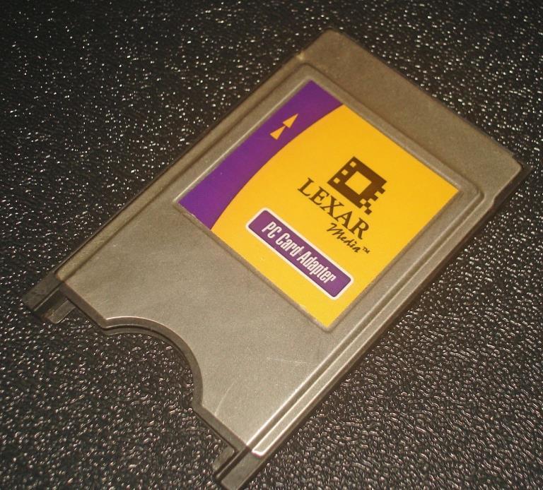 Lexar Media Compact Flash CF to PC Card Adapter 2076-C CFAD-003 CompactFlash