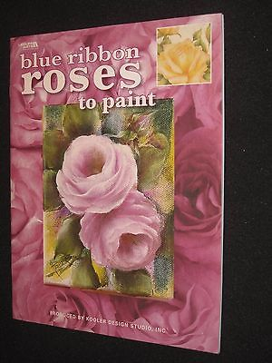 BLUE RIBBON ROSES TO PAINT PRODUCED BY KOOLER DESIGN STUDIOS - LEISURE ARTS