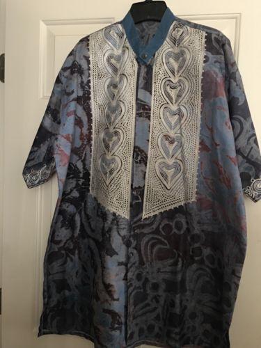 New Men's Shirt Handmade in West Africa