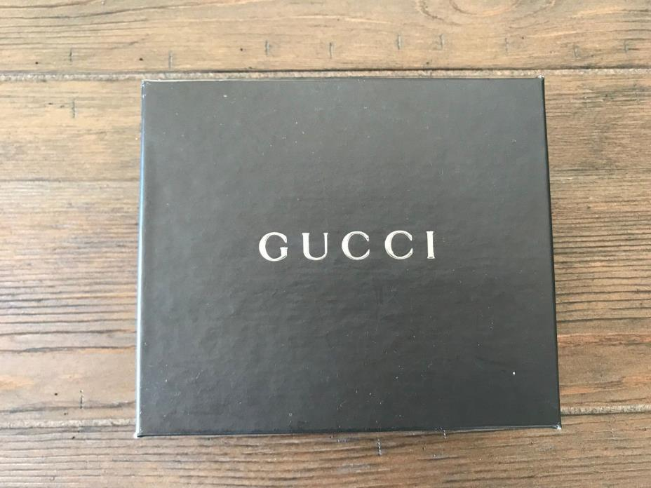 BRAND NEW GUCCI STORAGE WALLET BOX