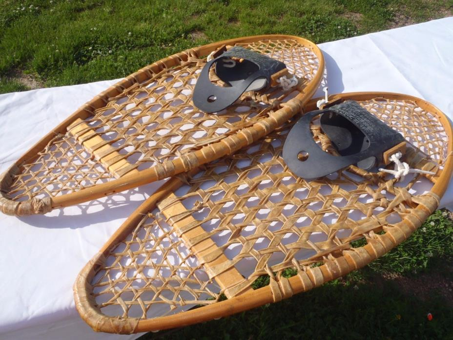 NICE VINTAGE BOB MAKI SNOW SHOES,DURABLE  14 X 30