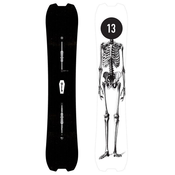New 2018 Burton Skeleton Key Twin 158cm Snowboard