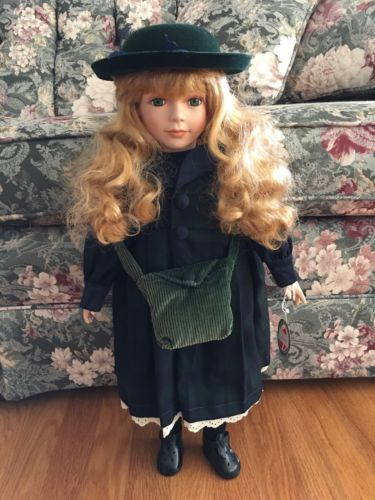 Delton Porcelain Doll Polly