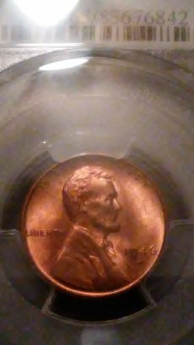 1946-S 1C MS65RD Lincoln Wheat Cent