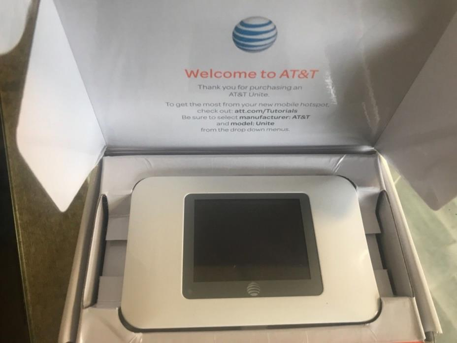 AT&T Unite 770S 4G LTE Sierra Netgear Mobile WIFI Hotspot