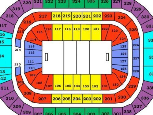 Lot of 10 Carolina Hurricanes vs Philadelphia Flyers Tickets 02/06/18