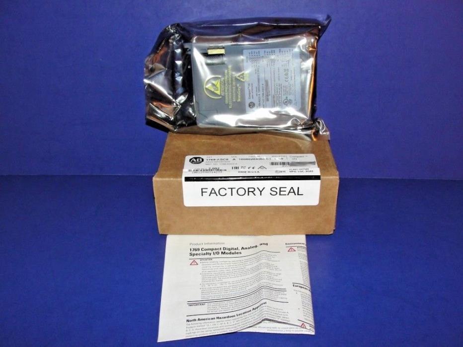 NEW IN BOX Allen Bradley 1769-ASCII Series A RS232/RS485/RS422 ASCII Module