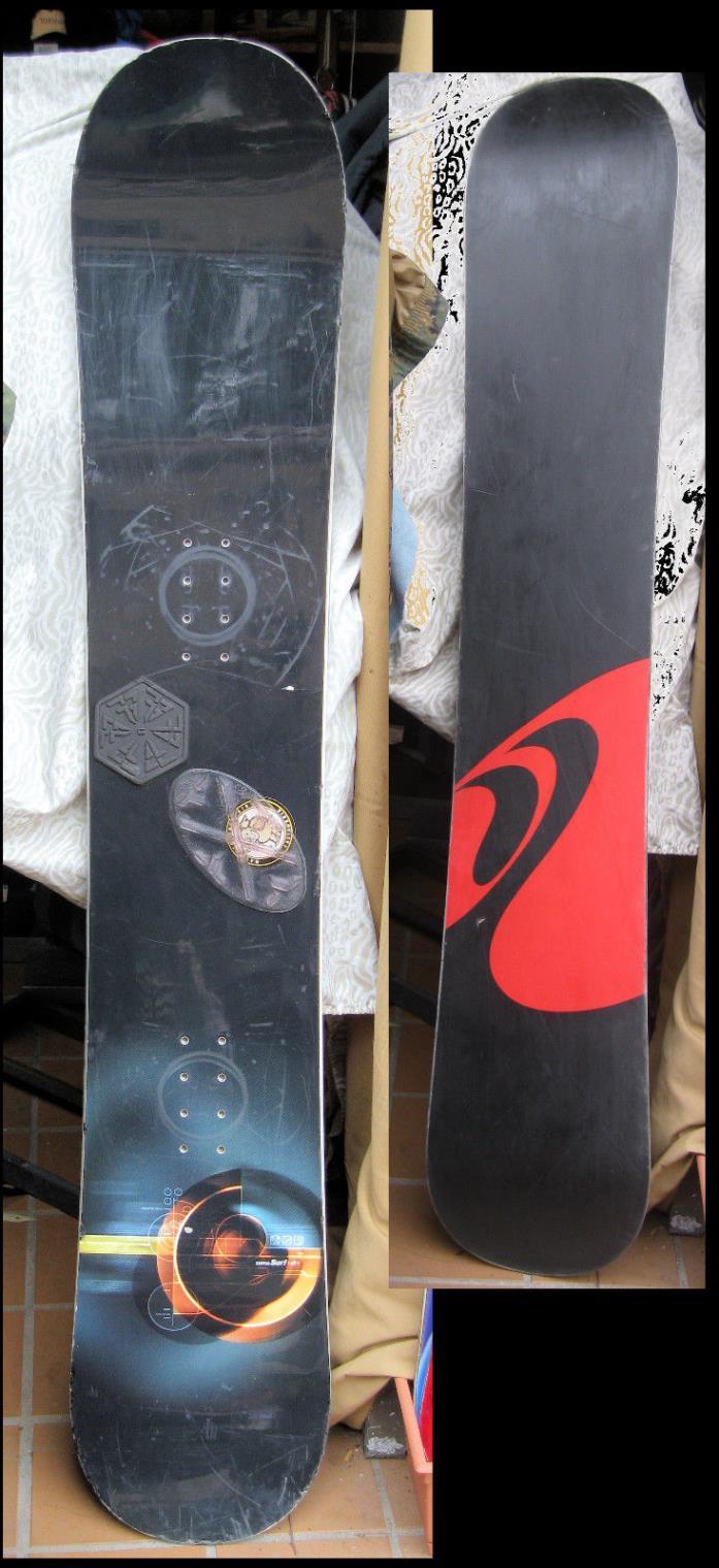 Zuma Surf Snowboard 63 inch 160 CM Snow Board w/ Stomp Pads