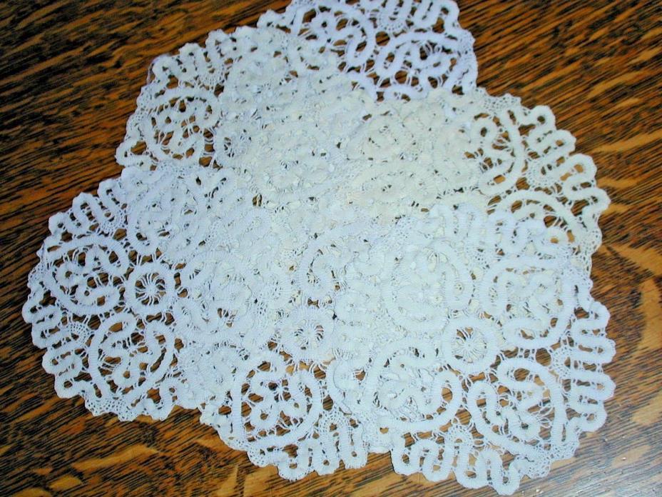Vintage Handmade Coasters, 7 Battenberg~4&1/2