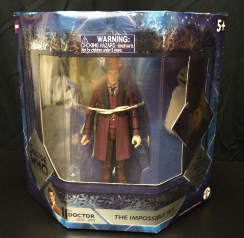 BBC Doctor Who The Impossible Set 11th Doctor 2010-2013 From the Snowmen NEW