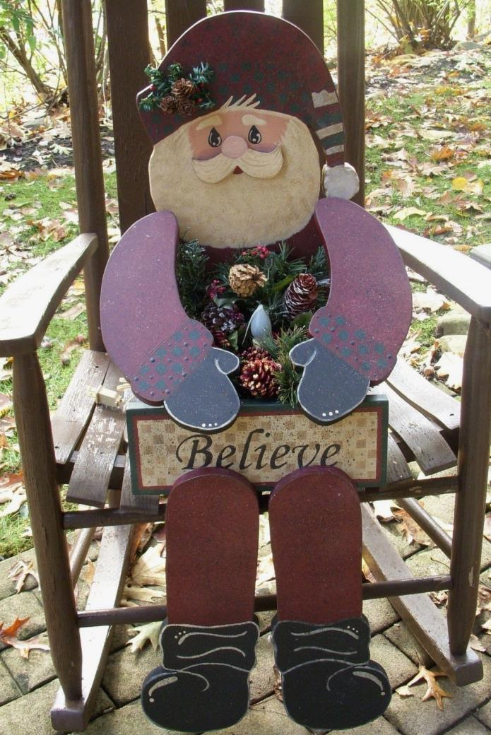 HOLIDAY/CHRISTMAS PRIMITIVE WOOD CRAFT PATTERN-