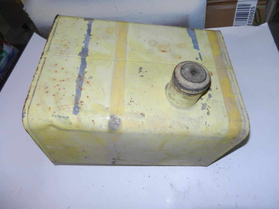 Old Gas Tank Small Engine Hit Miss Antique approx 6 gallon