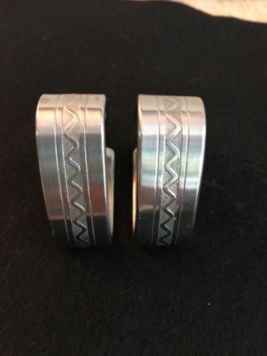 2 Napkin Rings Mid-Century Danish Modern GENSE 18-8 Stainless Steel SWEDEN 1960'