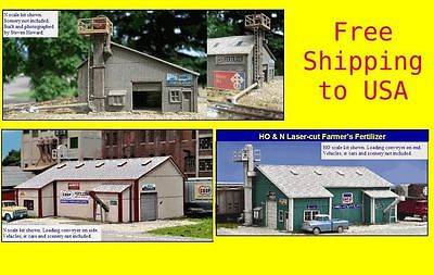 N Scale Farmer's Fertilizer Company Kit by Blairline FREE US SHIPPING*