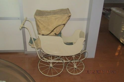 Vintage 1950's Baby Carriage Tram