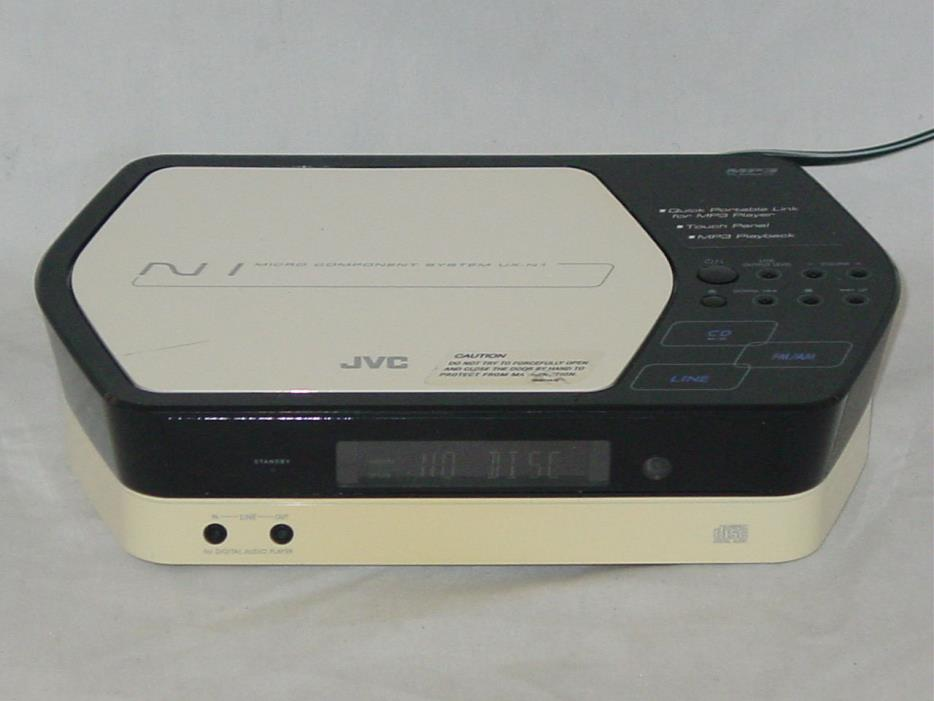 JVC UX-N1W AM/FM Radio MP3 CD Player HI-FI Micro System CA-UXN1W UX-N1