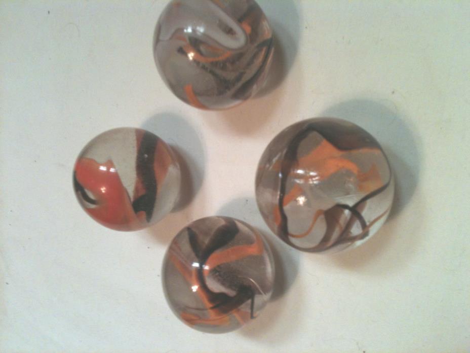 Mega Marbles SET OF 4 - 1 3/8