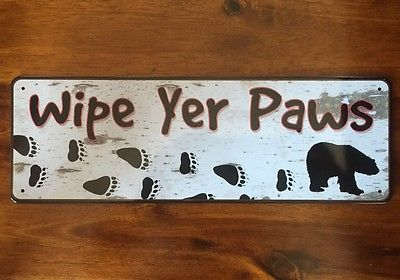 Bear Wipe Your Paws   10.5