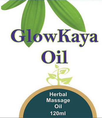 Glow Kaya Oil (Herbal Oil For Skin After Shower) 120 ml (4 oz)